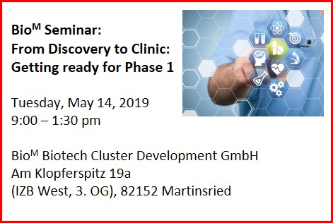 BioM-Seminar: From Discovery to Clinic