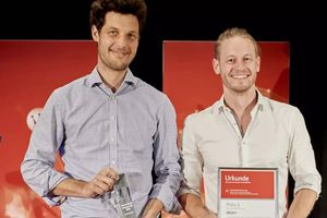 Platz 3 des Science4Life 2020: Team Deoxy