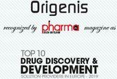 Origensi unter die Top10 Europäischen Drug Discovery Firmen gewählt