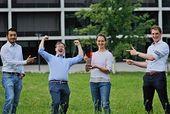 Science4Life, Abschlussprämierung 2021, Das Team der NanoStruct GmbH. ©Nanostruct GmbH