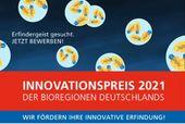 Innovationspreis der BioRegionen in Deutschland 2021